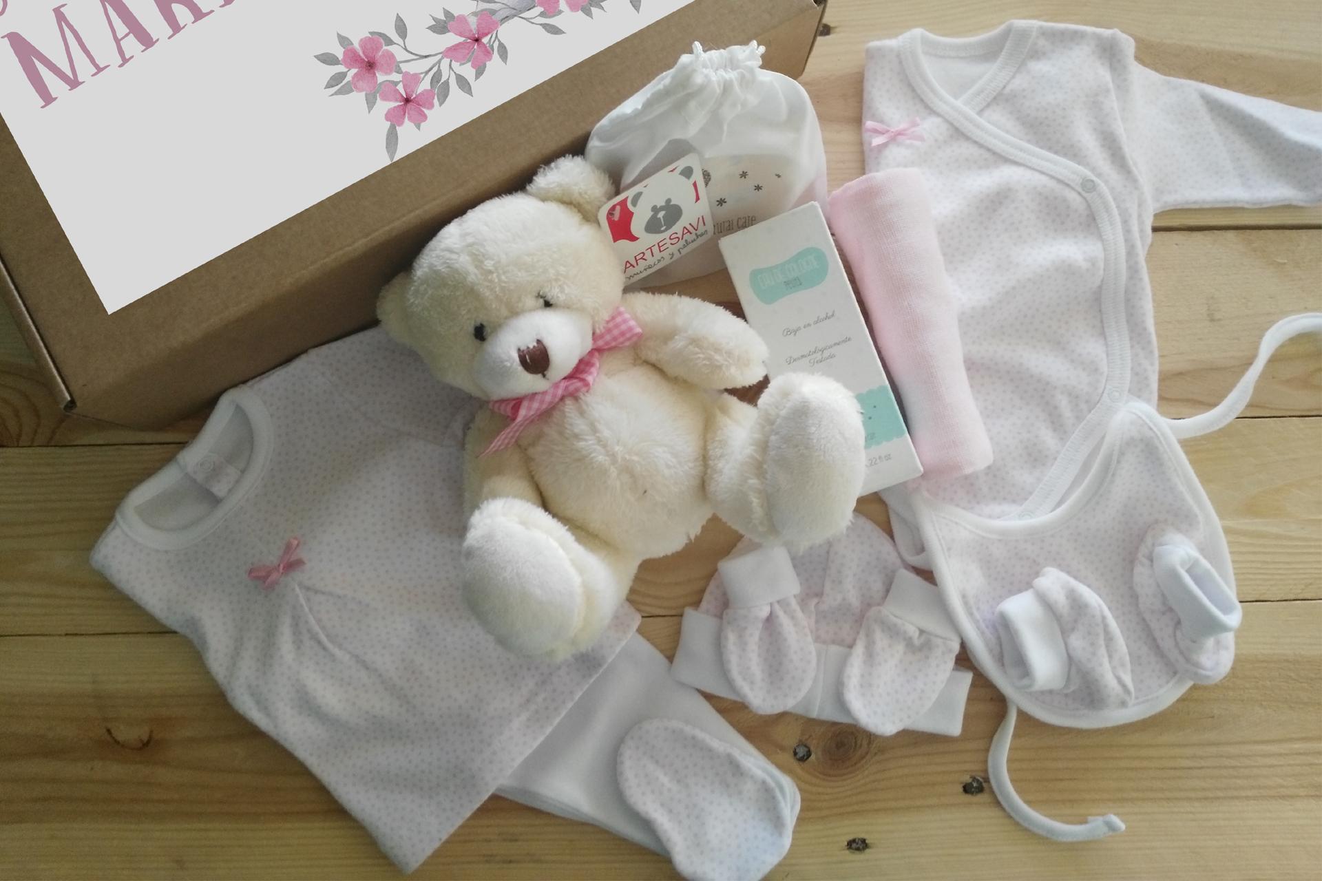 kit bebé rosa