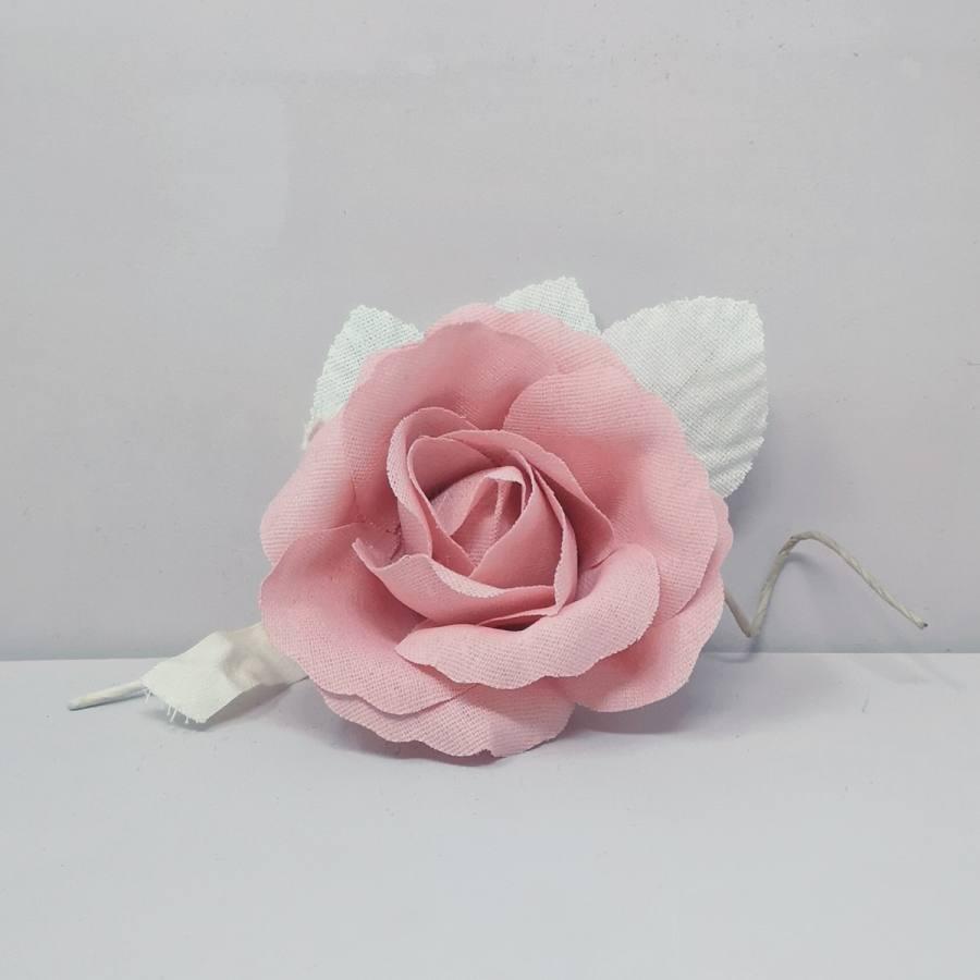 Flor Lino Rosa Decoración Eventos