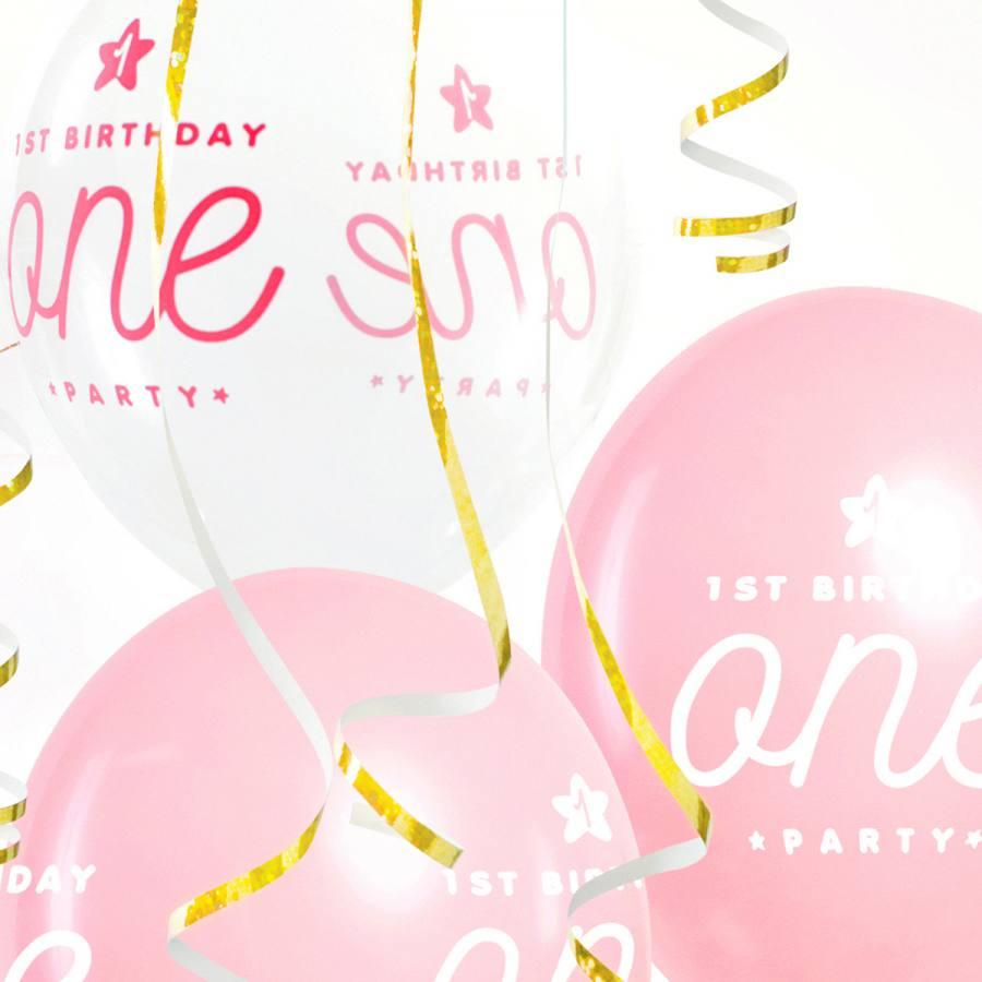 globos-primer-cumple-rosa