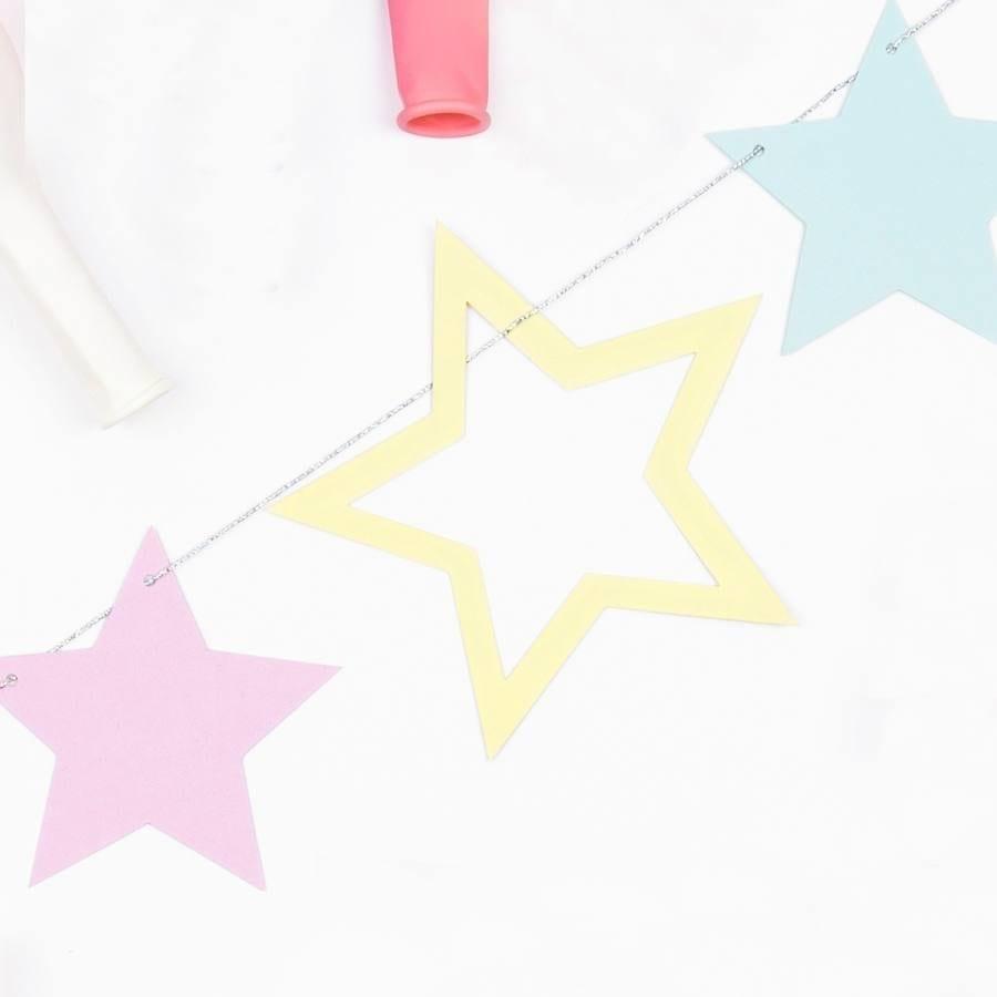 Guirnalda Estrellas Unicornio