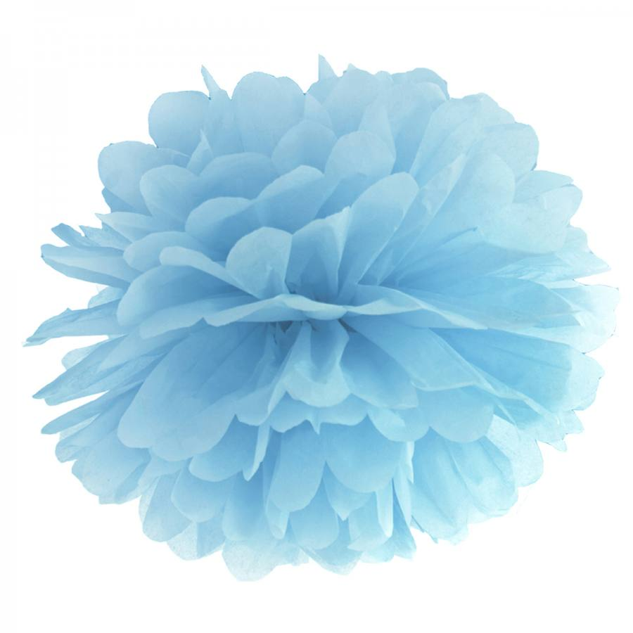 Pompón Azul