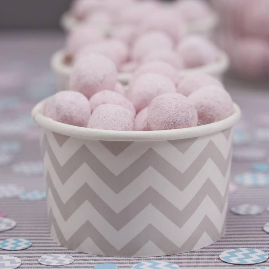Tarrinas para Cupcakes Chevron Gris