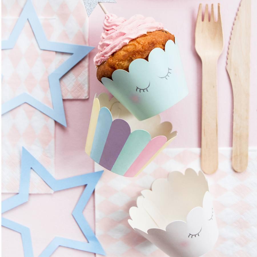 Tarrinas para Cupcakes Unicornio