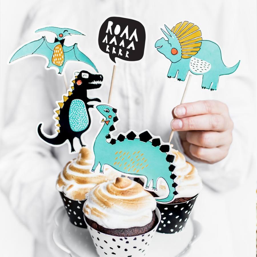 Topper Cake Dinosaurio