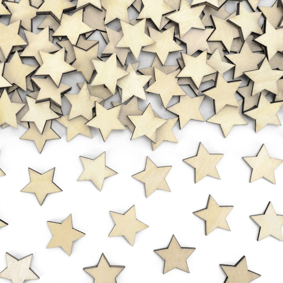 confeti-madera-estrella