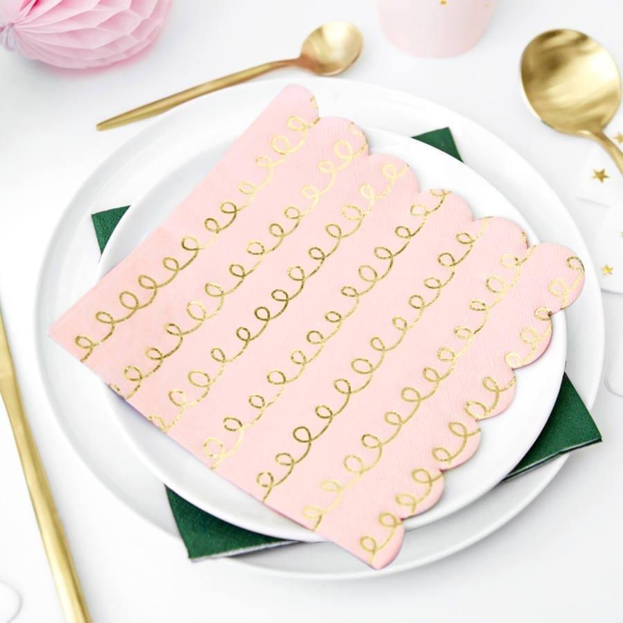 servilleta-rosa-dorado